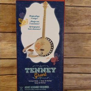 American Girl Tenney Grant  Banjo NEW